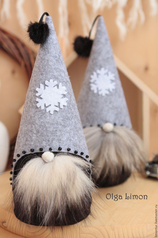 Купить Дедушка Бро! (Модный Мороз!) - черный, серый, белый, мягкая игрушка, дедушка мороз