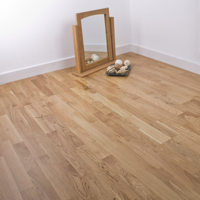 Natura oak Kerry wood flooring will add a touch of classic ...