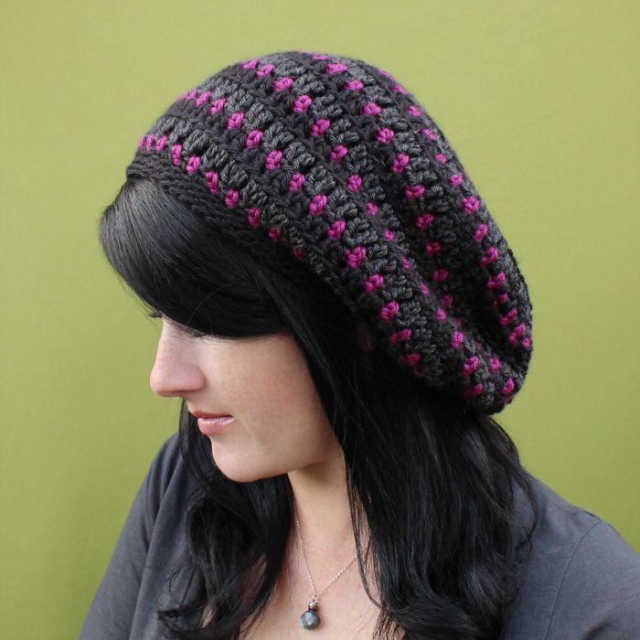 Crochet Slouch Hat Pattern For Sale Crochet Hats Pinterest
