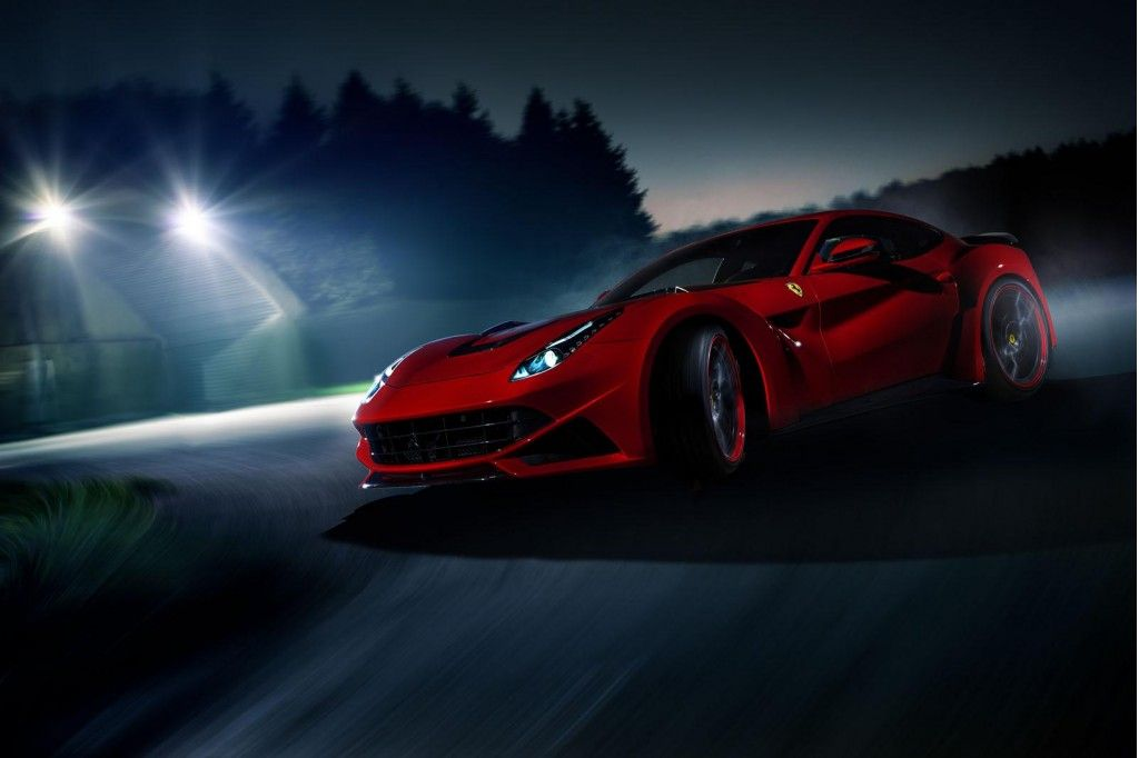 Novitec Rosso Builds Wide Body Ferrari F12 Berlinetta Sports Car