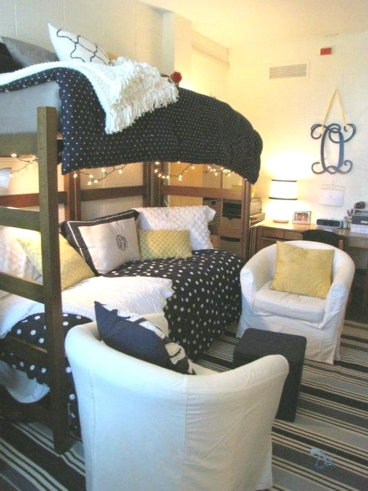 40 cute loft beds college dorm room design ideas for girl