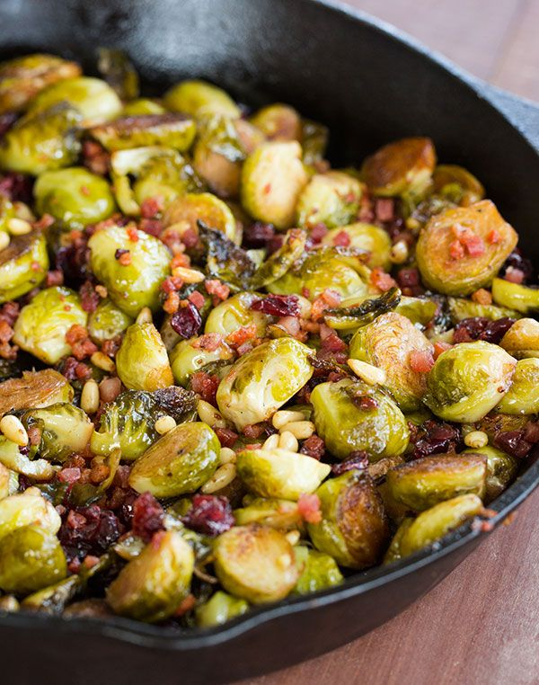 how to cook brussel sprouts with pancetta