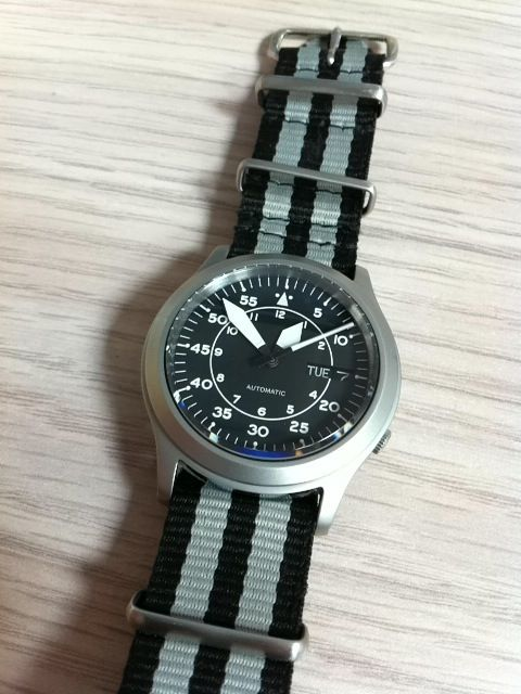 Seiko 5 Snk809 Custom Yobokies Watches Orient Watch Seiko