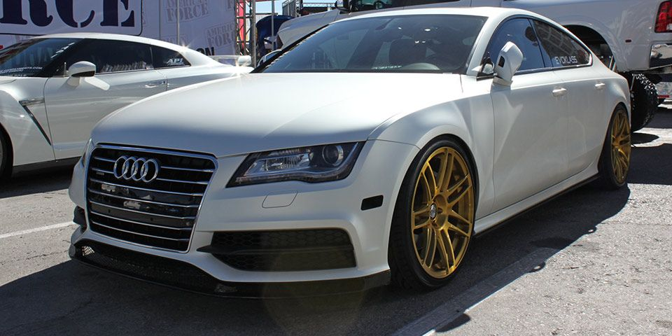 ghost motorsports audi a7 at sema 2013 modified custom audi pinterest audi a7 cars and. Black Bedroom Furniture Sets. Home Design Ideas