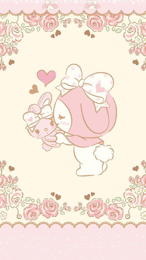 My Melody Weheartit Entry Sanrio WallpaperKawaii WallpaperHello Kitty