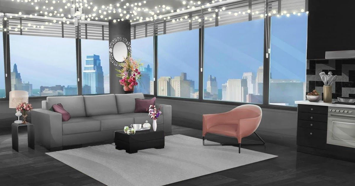 Beautiful Apartment Aesthetic Apartment Anime Living Room