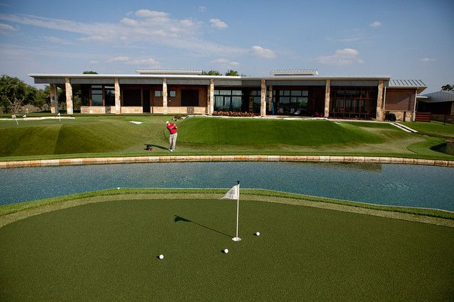 Dave Pelz Created His Own Private #golf Practice Green In His Back Yard.