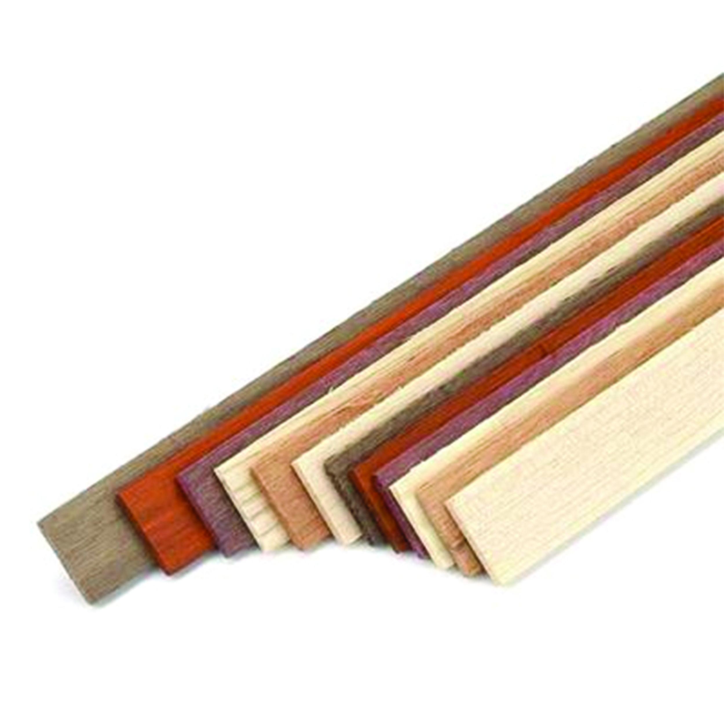 Woodcraft Woodshop Assorted Species 1 8 X 7 8 X 24 Wood Laminating Strips 12pc Wood Wood Laminate Wood Shop