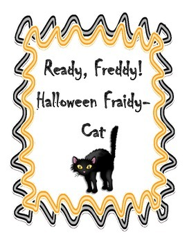 """Freddy is going to a Halloween party....or is he?  Students will have a great time reading this Halloween themed Ready Freddy book.  This novel study focuses on students being able to look back in the text to locate the answers to questions.  Included are comprehension questions for each chapter, teacher discussion questions, chapter summary sheet, and a picture find (students have to locate the hidden word """"fin"""" in each picture)."""