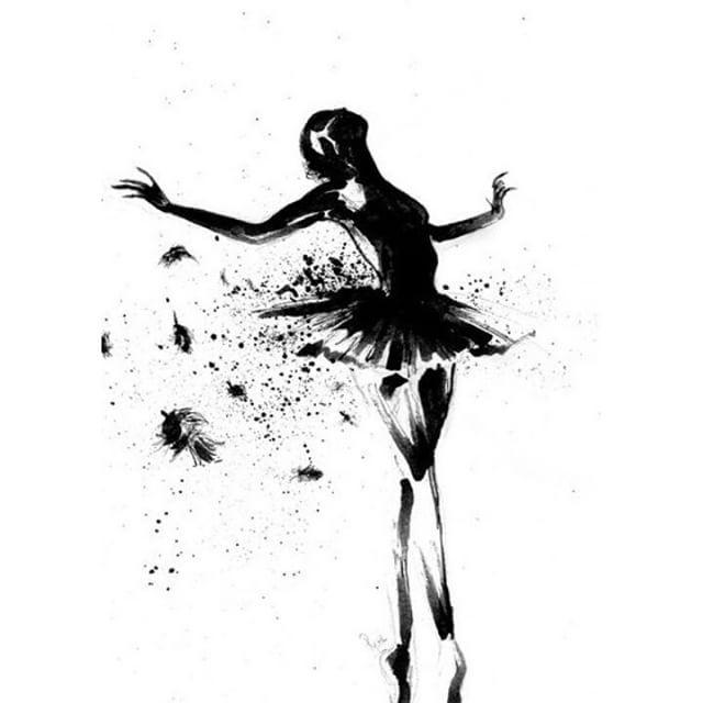 Afficher l 39 image d 39 origine art pinterest images - Dessiner une danseuse ...