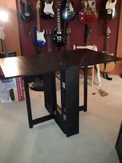 Gateleg table! Could be a perfect craft table!!