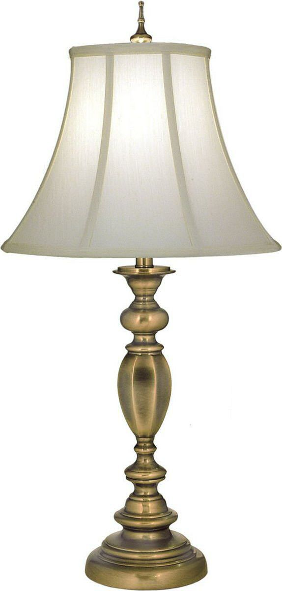 33 H 3 Way Table Lamp Antique Brass Table Lamp Lamp Stiffel 3 way table lamps