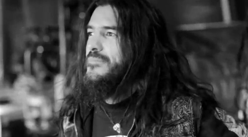 To me, he is the most awesome man in metal. Robb Flynn, lead singer and guitarist of Machine Head