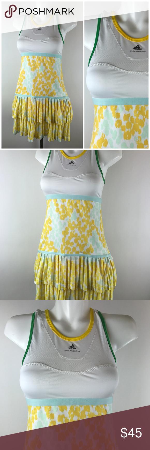 Stella McCartney Adidas Barricade Tennis Dress Stella
