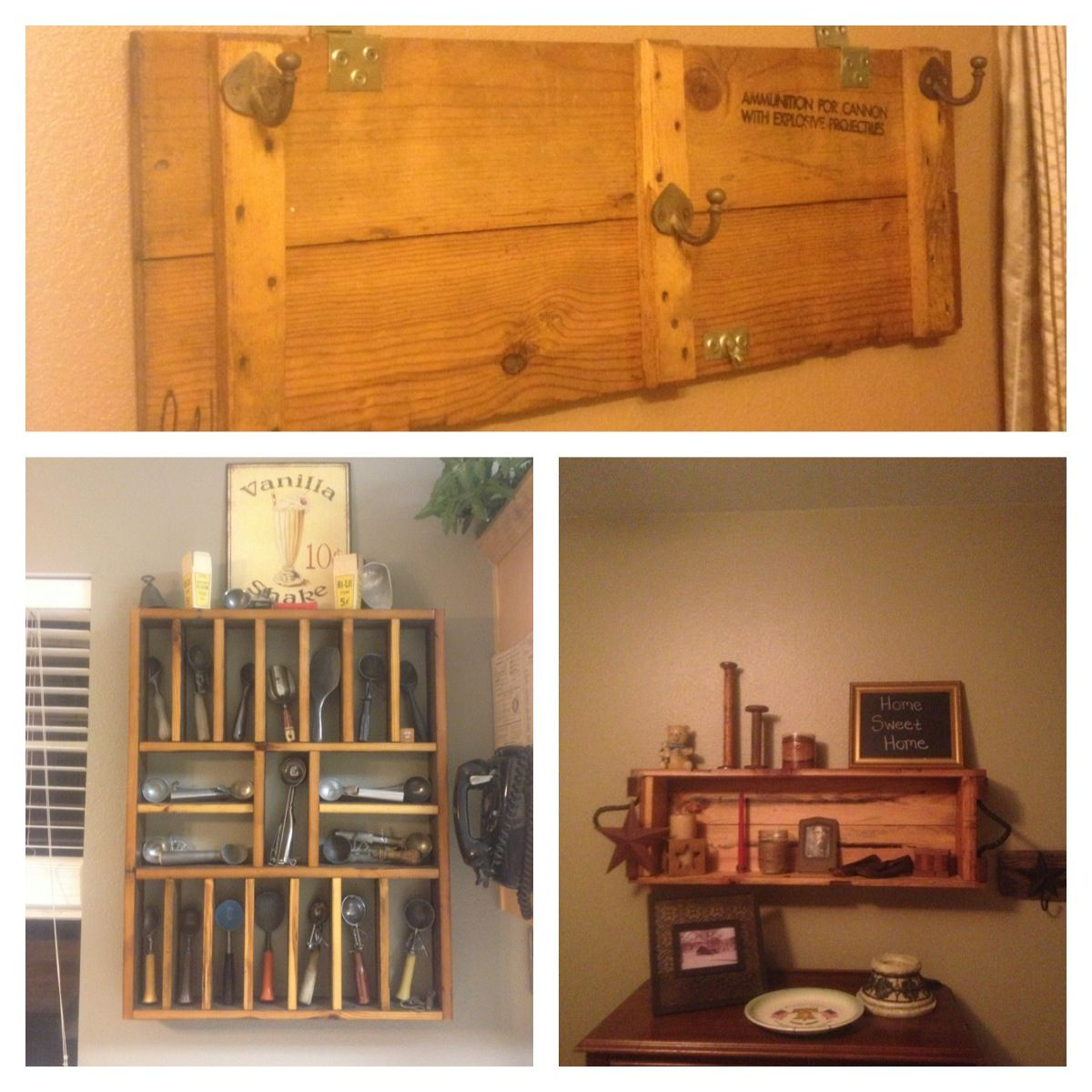 How To Make A Decorative Wooden Box Must Do Something Like It To My New Old Ammo Box Old Bar Wood And