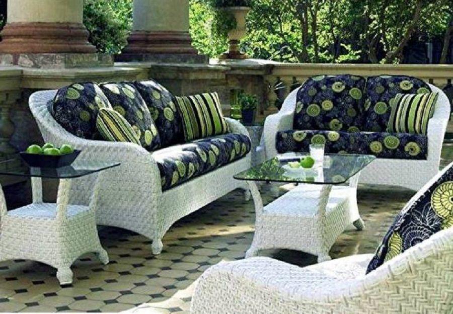 white wicker patio furniture clearance