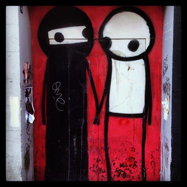 #streetart #bricklane #stik
