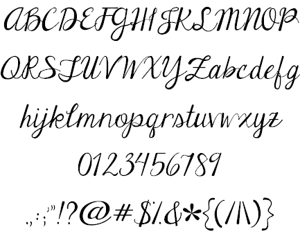 Handwriting Fonts  Google Search  Fancy Writing