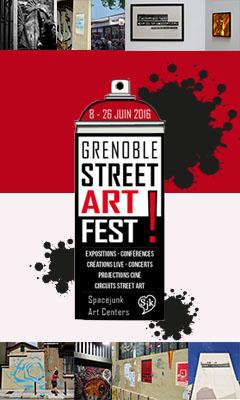 Grenoble Street-art Fest