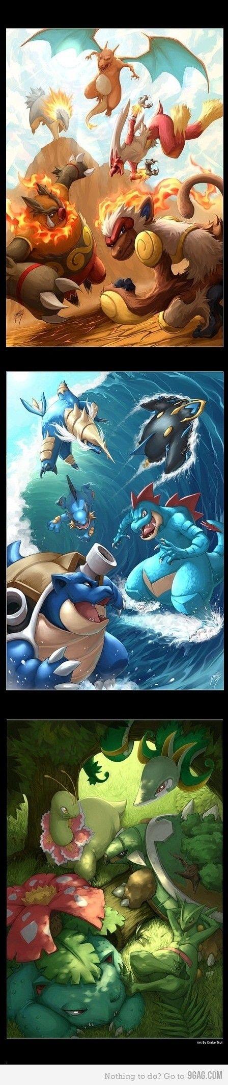 Inicial pokemons Fotos de pokemon, Imágenes de pokemon