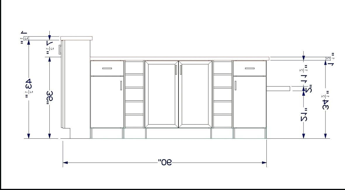 How To Figure Out Linear Feet For Kitchen Cabinets | www ...