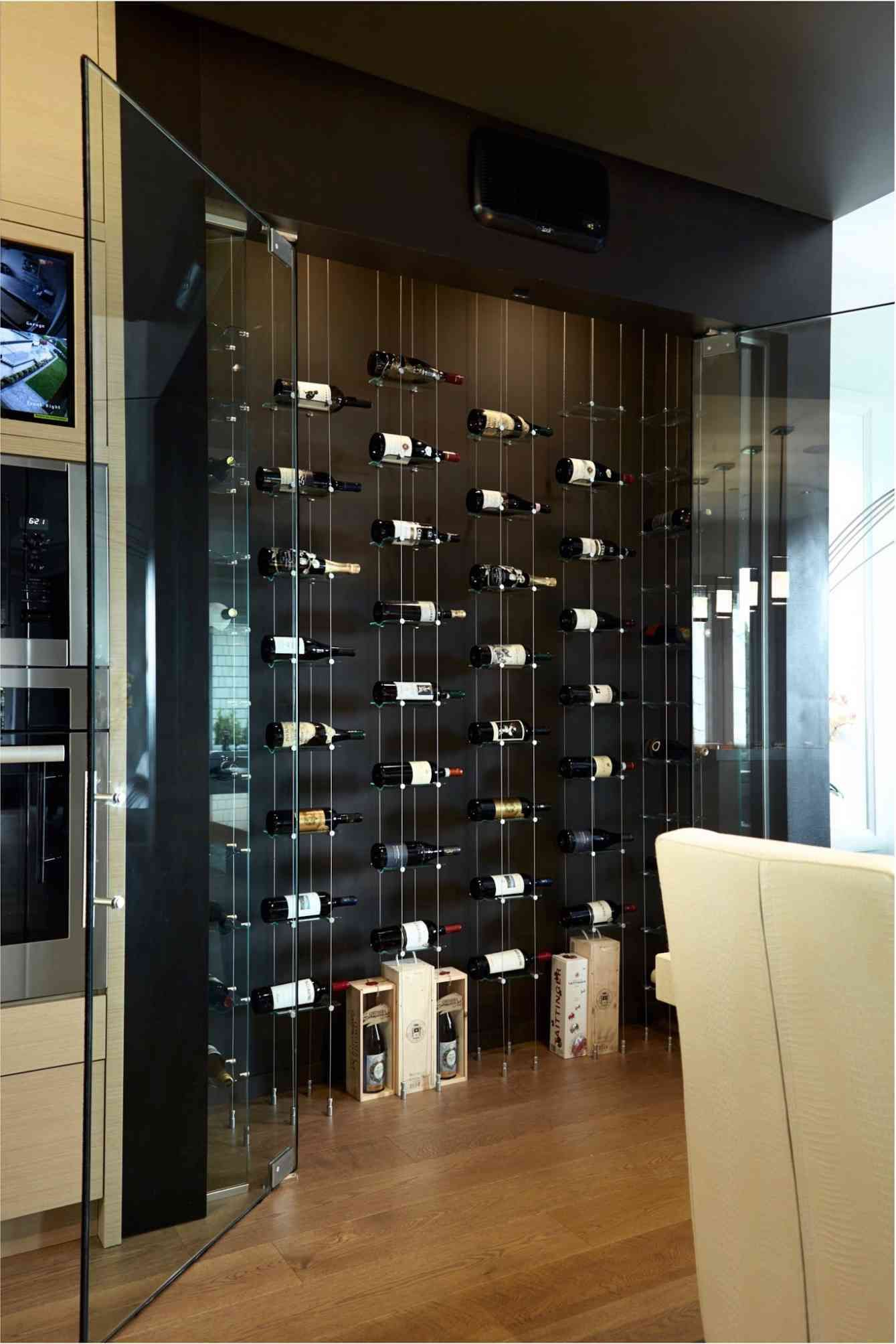 25 Luxury Modern Wine Cellar Ideas To Make Your Happy Paijo Network In 2020 Modern Wine Rack Wine Rack Wall Home Wine Cellars