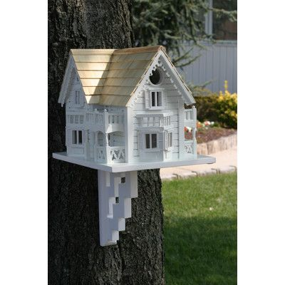 You'll love the Classic Series Sleepy Hollow Cottage 9.5 in x 9.5 in x 11 in Birdhouse at Wayfair - Great Deals on all Outdoor  products with Free Shipping on most stuff, even the big stuff.