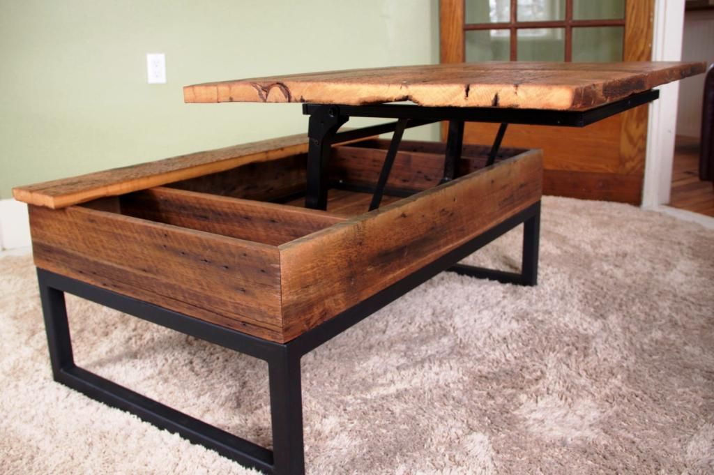 DIY Turner Lift Top Coffee Table For the Home Pinterest