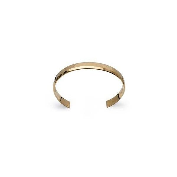 UniBracelet 18K Gold Plated Cuff 255 CAD via Polyvore featuring