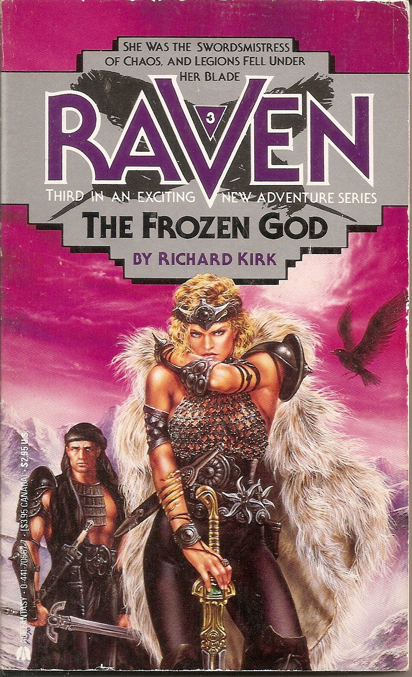 Raven 3: The Frozen God - Richard Kirk