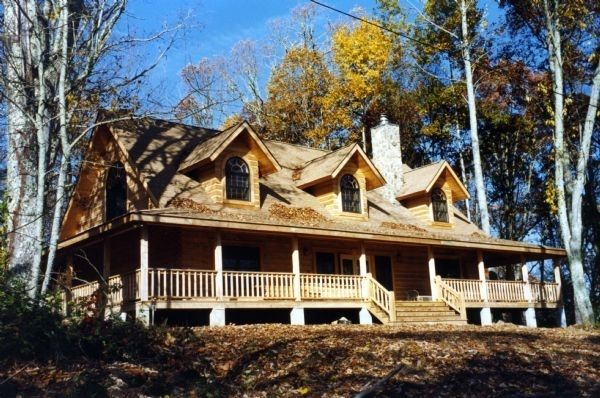Log Homes By B K Cypress Inc Gallery Plans Photos Exterior Al