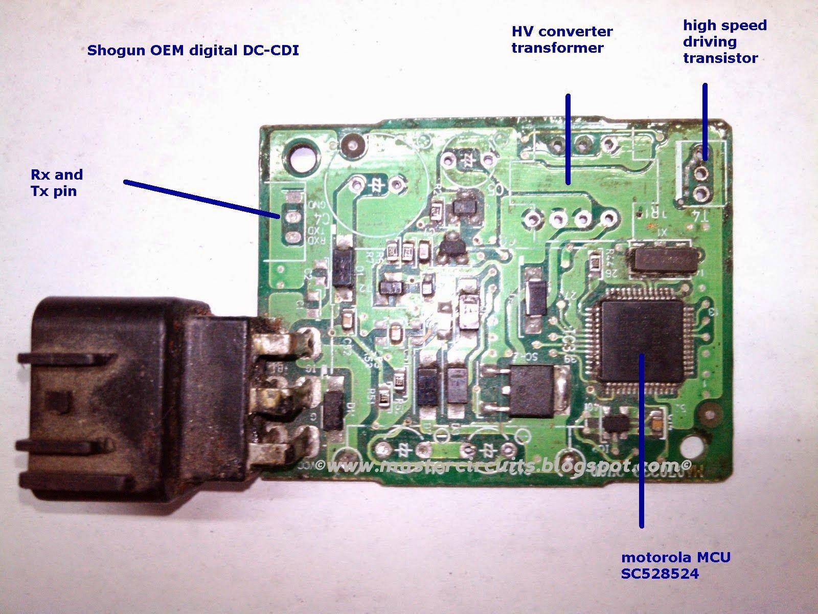 medium resolution of modified cdi dc cdi schematic cdi upgrade shogun cdi shogun racing cdi pi16f628a cdi