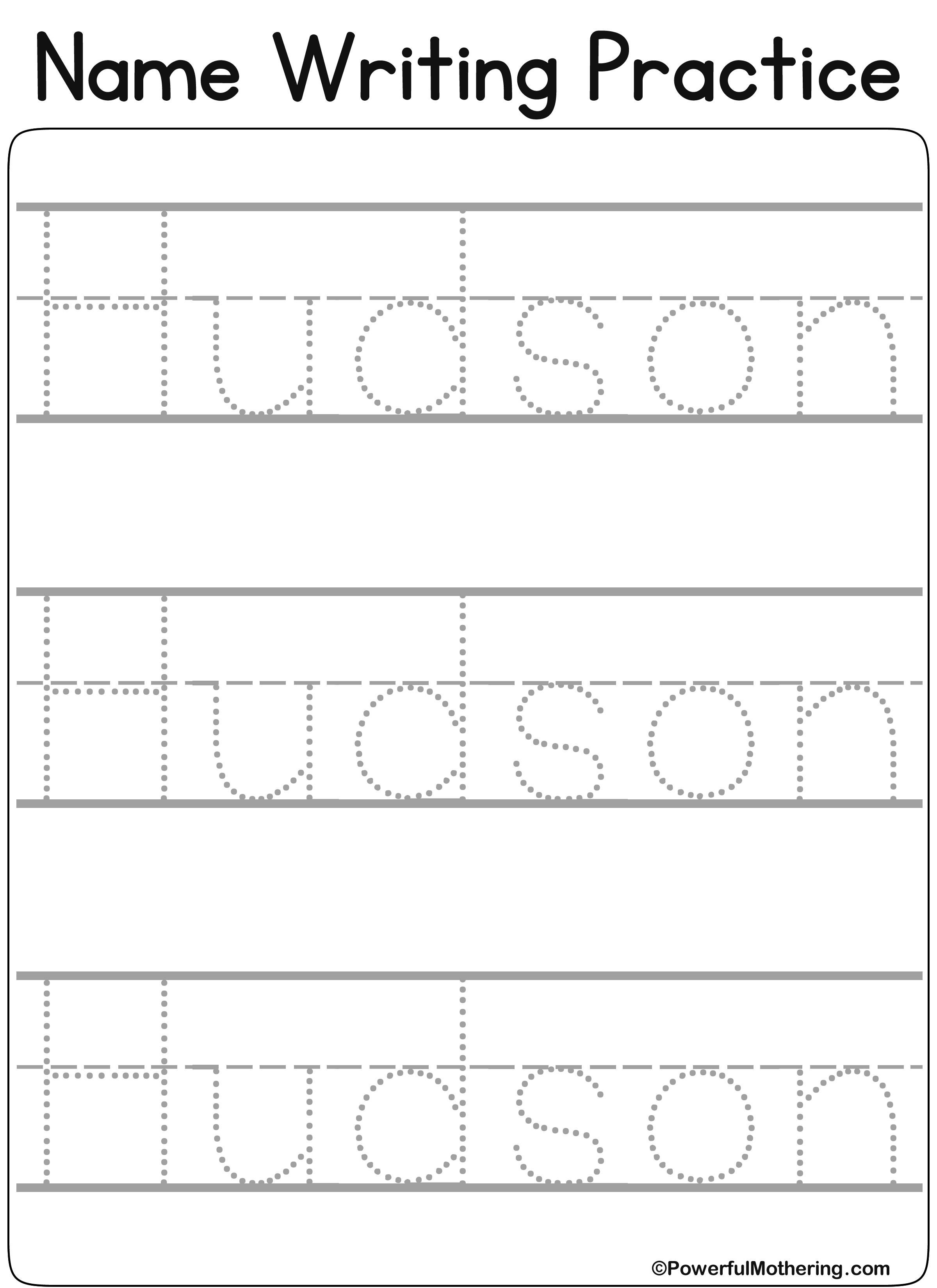 Pin by Yeo on Preschool Worksheets Name tracing