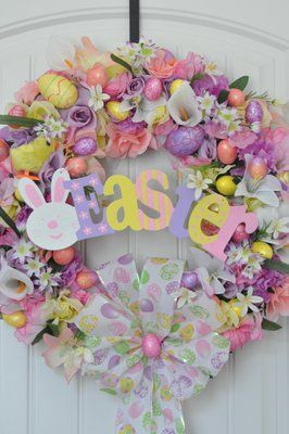 Custom Wreaths/Center peices/ Canvas/ ETC Check out Dani-Marie Designs on facebook!!!