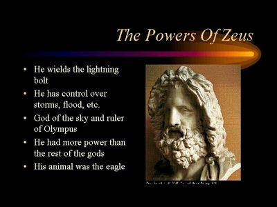 Greek Gods Names And Powers Greek God King Of The