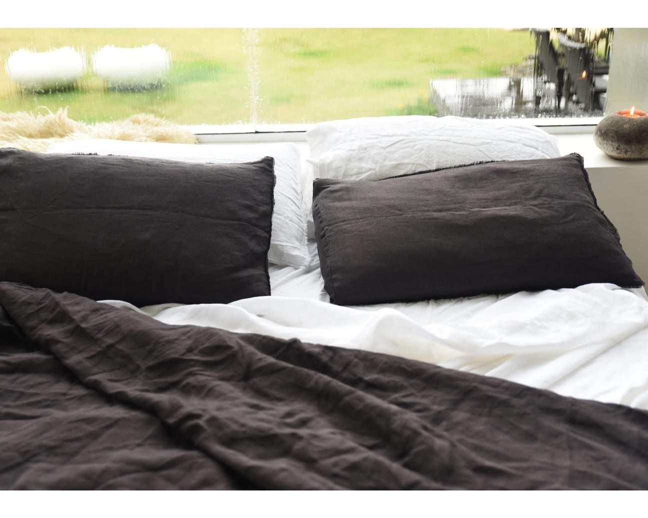 Hemp Linen Flat Sheet Flat sheets, King size sheets, Bed