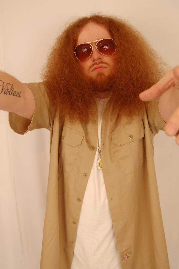 Rittz Not Just Another White Rapper With Giant Red Hair White Rapper Red Hair Strange Music