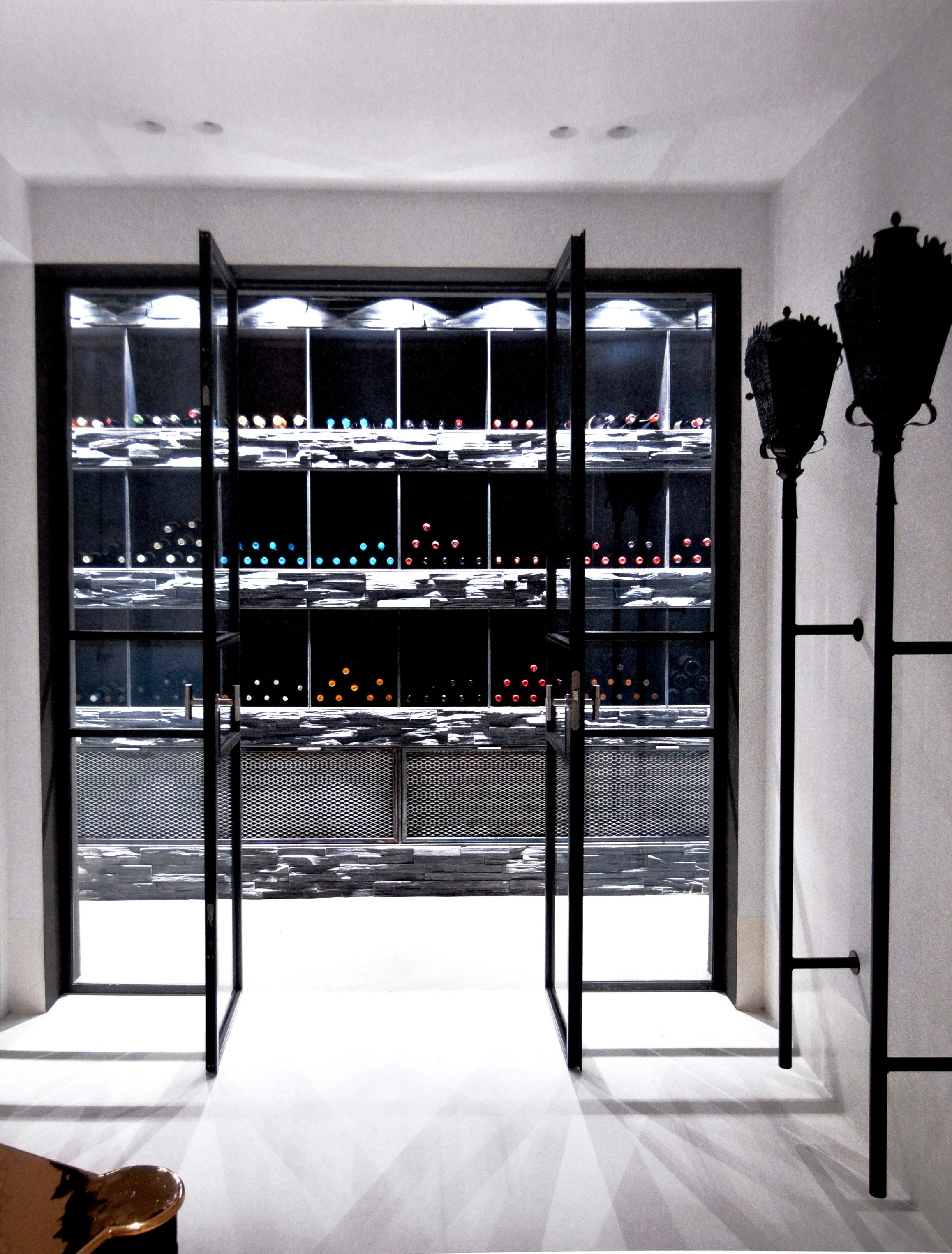 Wine Cellar  Urban Residence In Amsterdam By Piet Boon