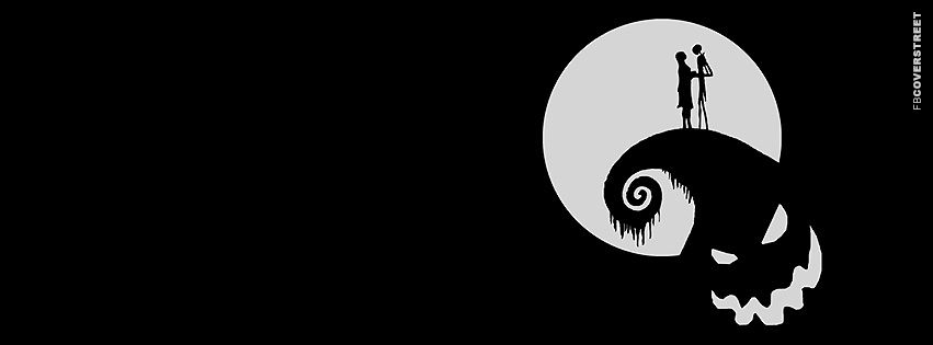 Download this high quality Jack Skellington Romance Facebook Cover