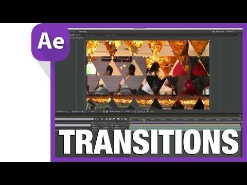 After Effects Creating Geometric Transitions Using Shape Layers
