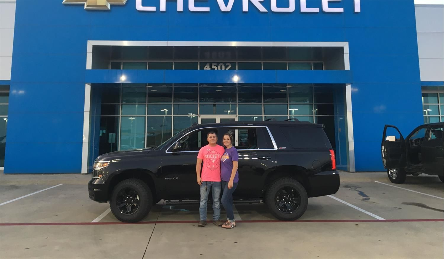 Dustin and Ashley, we hope you enjoy your new 2017 CHEVROLET TAHOE