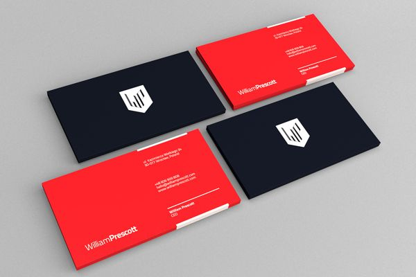 William prescott branding by piotr steckiewicz via behance corporate design reheart Image collections
