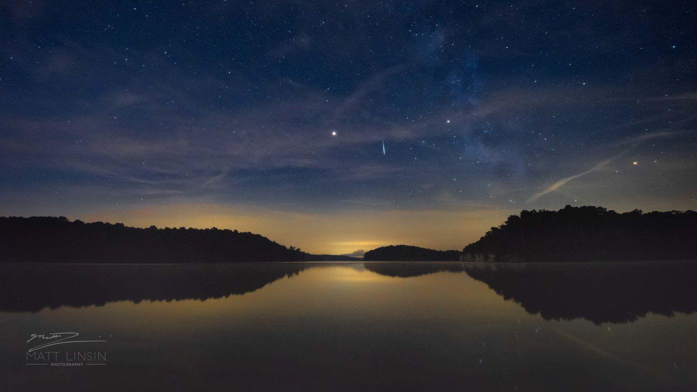 Cedar Lake Comet — mattlinsinphotography Cosmology