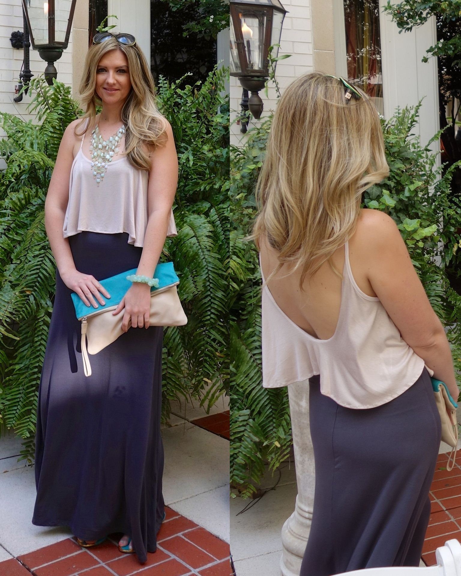 What to wear to a courtyard wedding at The Ritz Carlton | Maxi ...