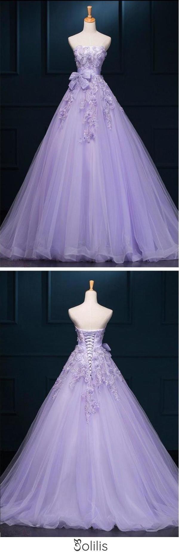 New Arrival Ball Gown Luxury Appliques Prom Dress Wedding Dresses  Jolilis