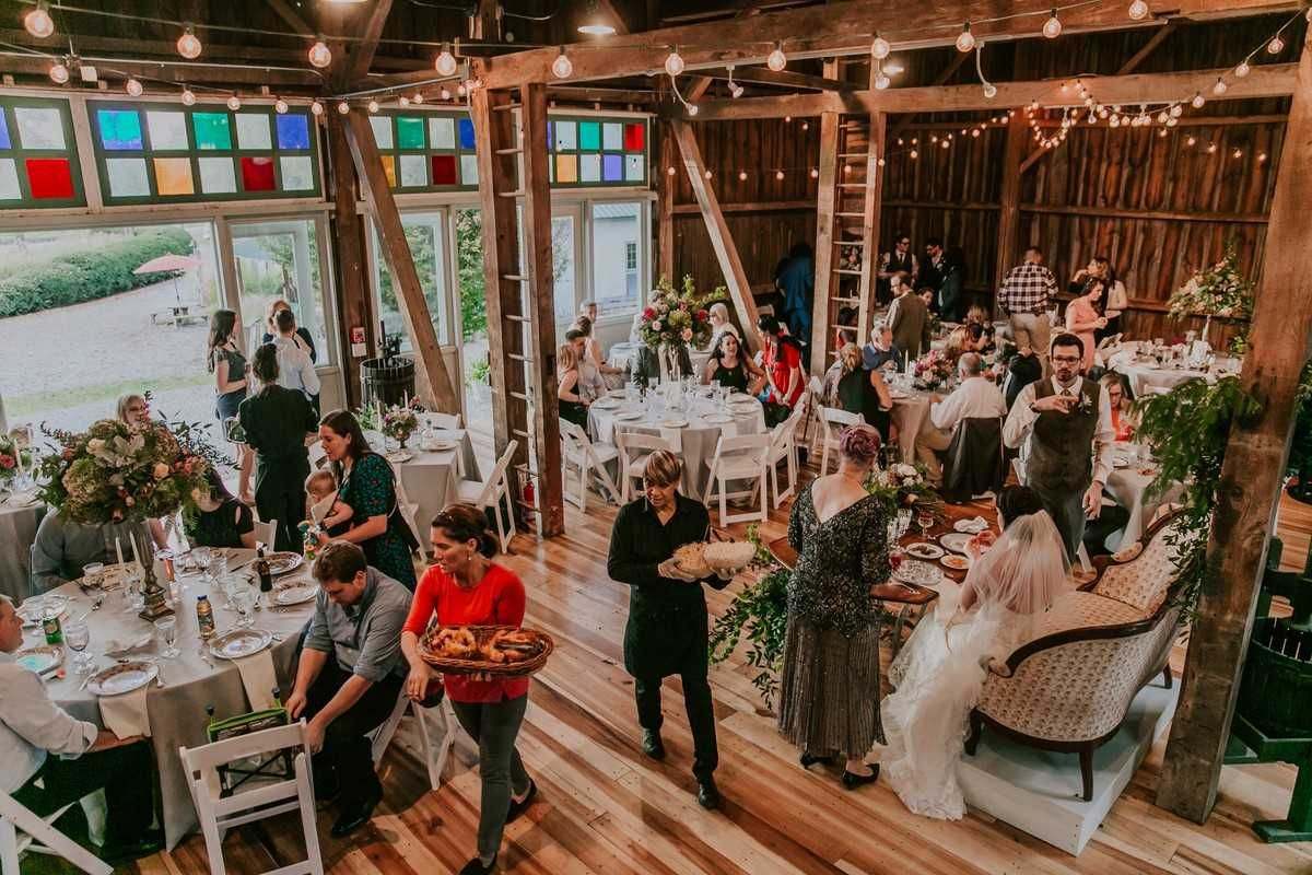 The Barn at Wolf Creek Venue Akron, OH WeddingWire
