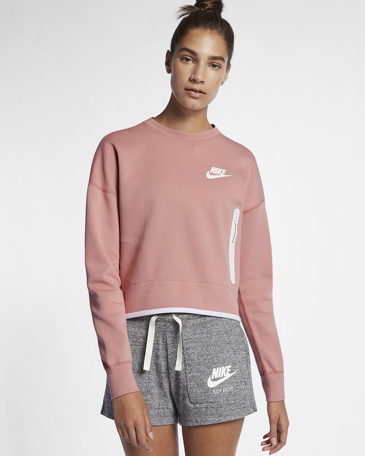Nike sportswear tech fleece womens crew tech fleece