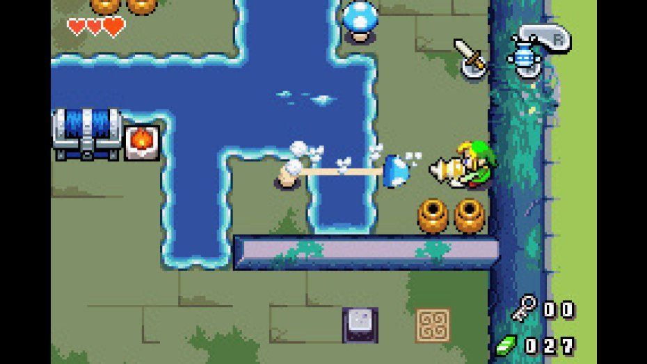 The Legend Of Zelda Minish Cap Game Boy Advance Screenshot