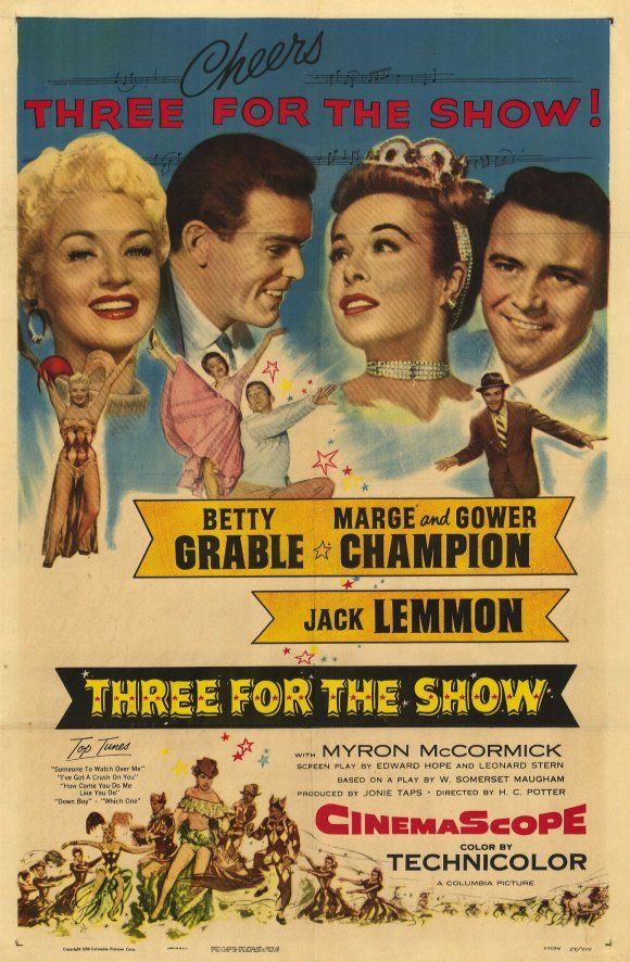 Image result for Three For the Show 1955