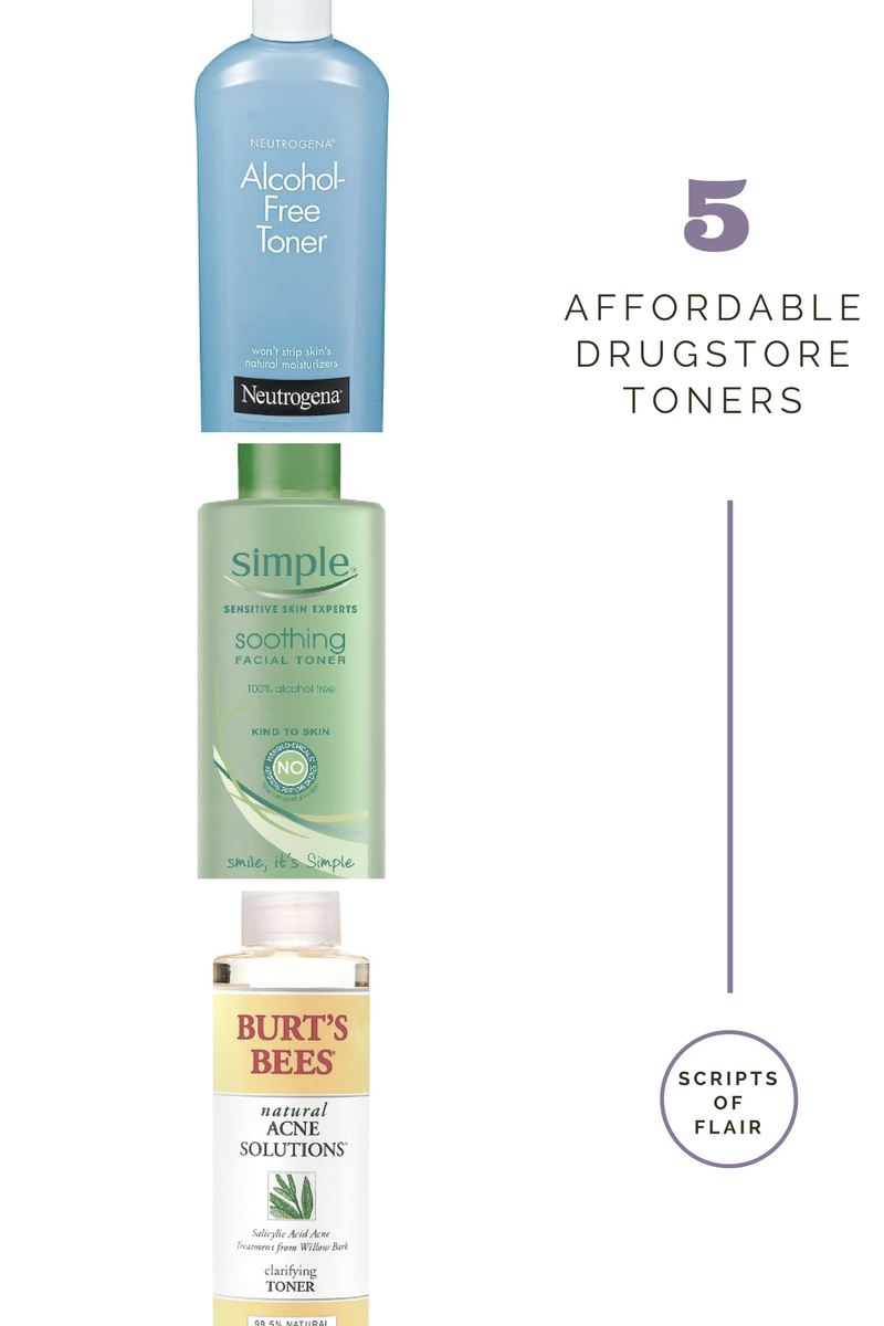 The Best Drugstore Toners For Oily Acne Prone Skin Acne Prone Skin Oily Skin Care Skin Care Serum